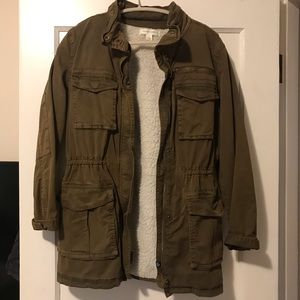 Treasure & Bond Sherpa Lined Jacket
